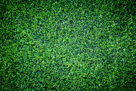 Indoor soccer training grass top view texture