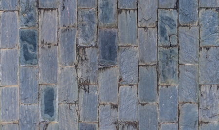 Gray stone rock wall for texture background Foto de archivo - 100382884