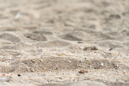 fine sand surface for texture and background. 写真素材