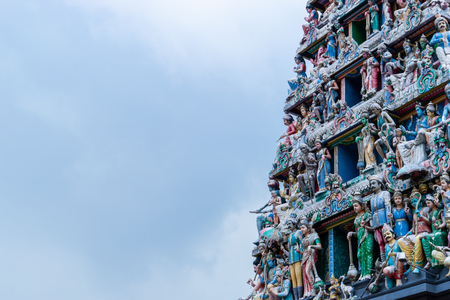 Sri Mariamman Temple Hindu Religion in Singapore China town