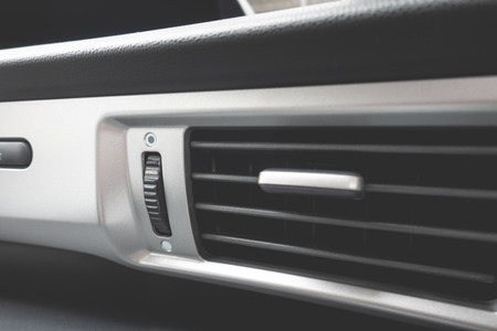 Air flow pane of a car Air conditioning system