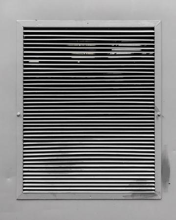 Metal Air conditioner ventilator holes for hot air flow