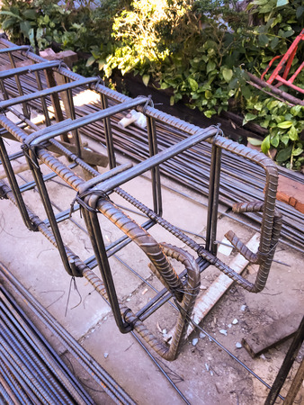 Thick double construction steel for building foundation