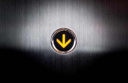 Lighten up going down button for Lift Elevetor