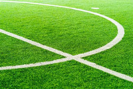 Krzywa Linia pola treningowego do piłki nożnej halowej