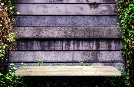 Gray Rock shelf counter garden wall for texture background Stockfoto - 112450449