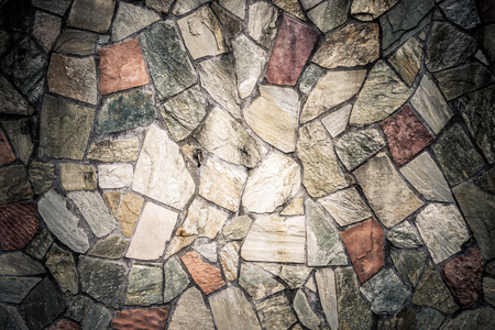 Stone tile floor block wall for texture background 版權商用圖片