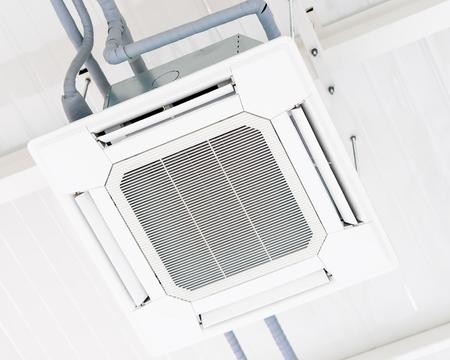 sufit budynku wentylacja powietrza klimatyzator maszyna,