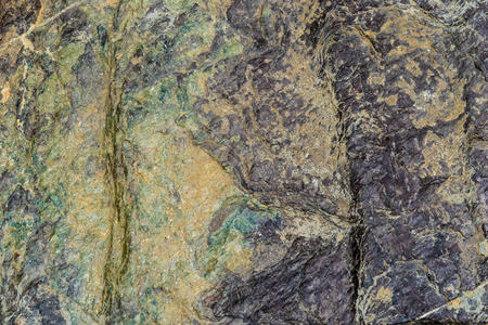 Yellow green Rock layer surface marble for texture background