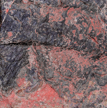 Red black Rock layer surface for texture background