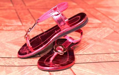 sandalias: Un par de sandalias