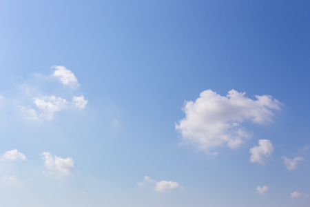 Blue sky background with clouds, background sky