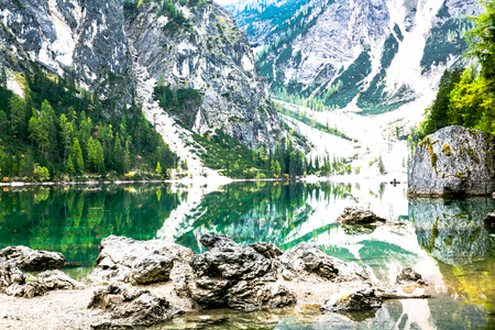 Italy Dolomiti Stock Photo