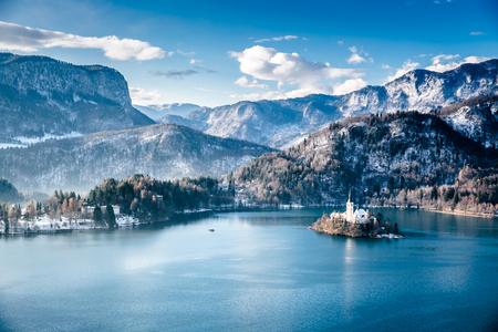 Slovenia Bled Imagens