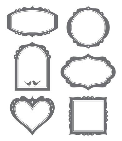 illustration of a frame set