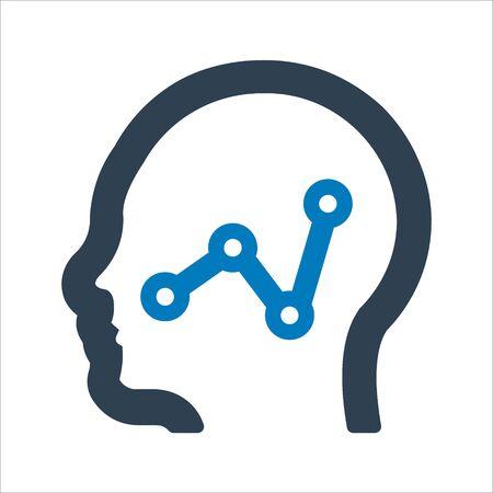 Report thinking icon.