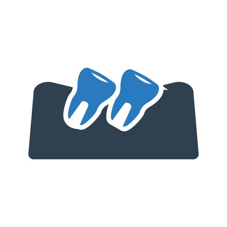 Loose tooth icon