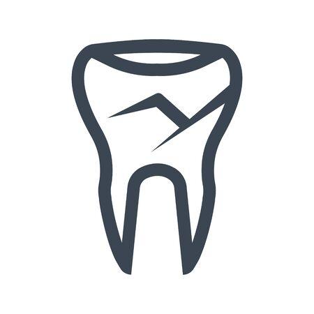 Dental sealant icon Archivio Fotografico - 149852489