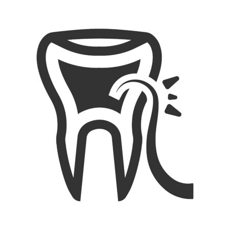 Teeth scaling icon