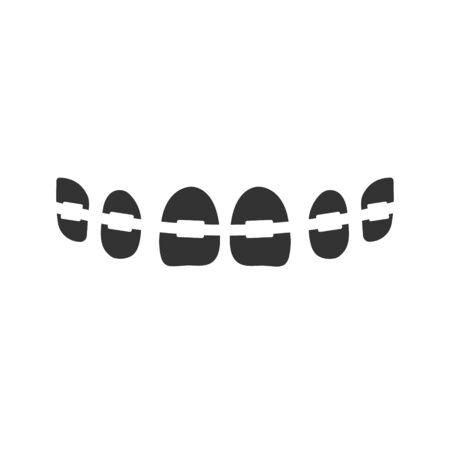 False teeth icon