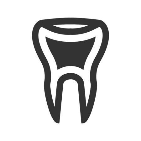 Tooth icon Vettoriali