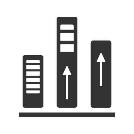 Business Statistic Icon, Business Growth, Business Analysis vector