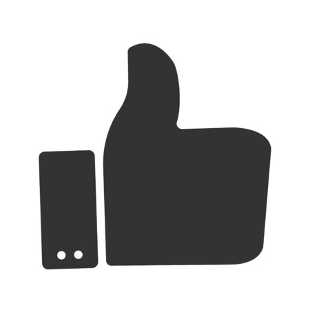 Thumbs up Icon, vector graphics