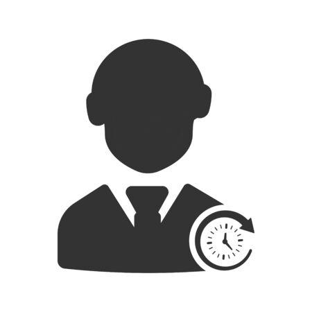 Service Management, support, customer care Icon Vettoriali