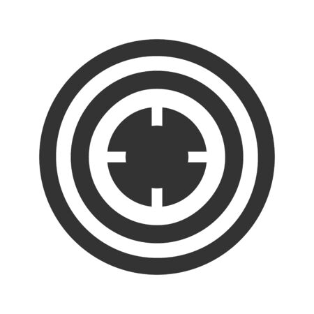 Business target, goal, aim icon