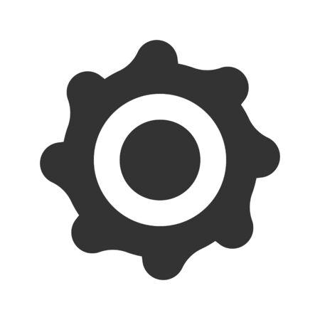 Setting gears icon Vettoriali