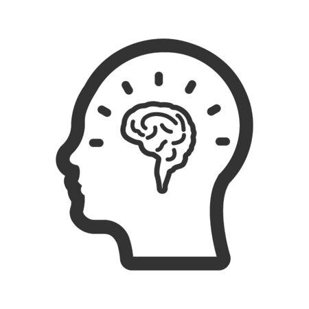 Creative Thinking, brainstorming, idea Icon