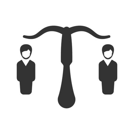 Business direction, business opportunity icon Vettoriali