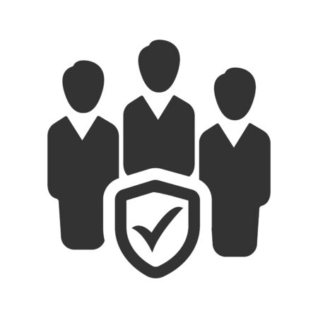 Business Group Insurance, Business Group Protection Icon