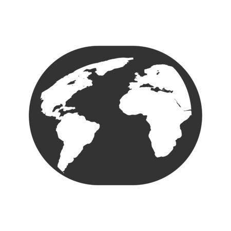 Global financial institution location icon