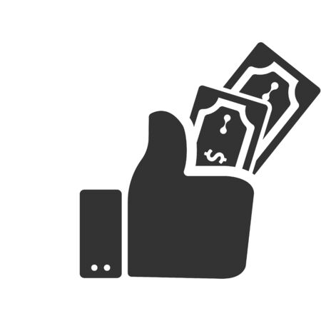 Money, Money giving, Donation, Charity for health care icon