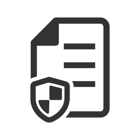 Insurance Policy Icon, Insurance Policy, guarantee, agreement Icon