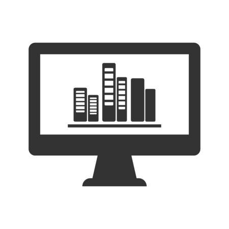 Business presentation, conference, seminar icon