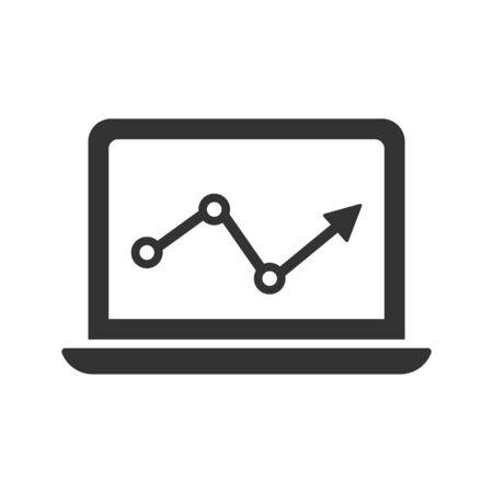 Market Analysis Icon Vettoriali
