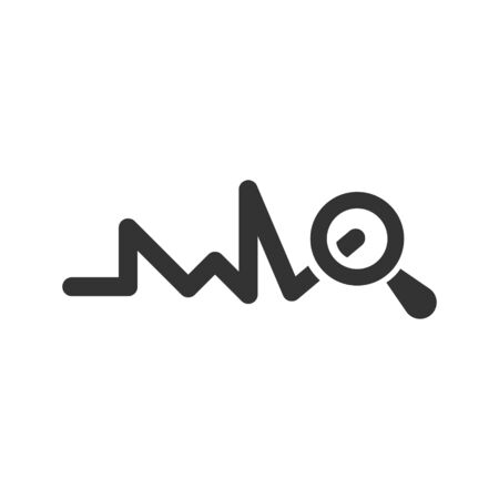 Marketing research, seo monitoring icon