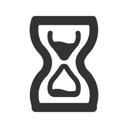 Waiting, hourglass, Deadline, Time Planning Icon Vettoriali