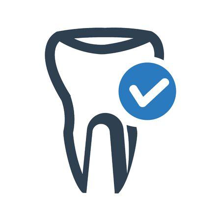 Dental Care Icon illustration