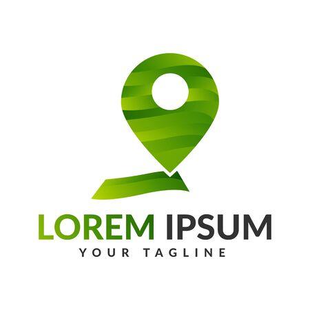 Location pin logo