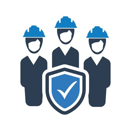 Employee Protection, Employer Insurance Icon