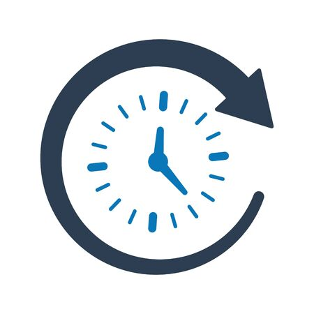 Time Management Icon, Time Planning Archivio Fotografico - 150228332