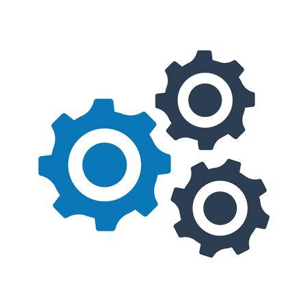 Configuration, customize icon. vector graphics Vektorgrafik