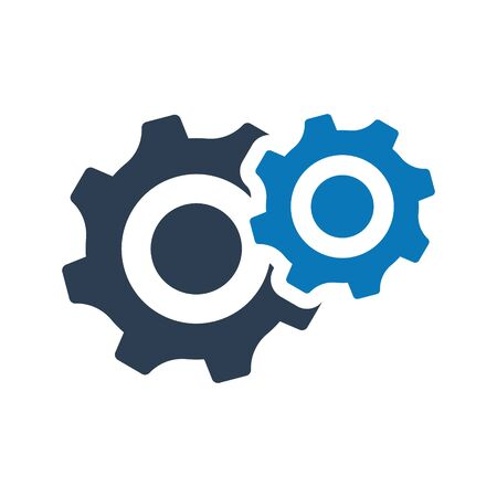 Gears Icon, Configuration, customize, vector