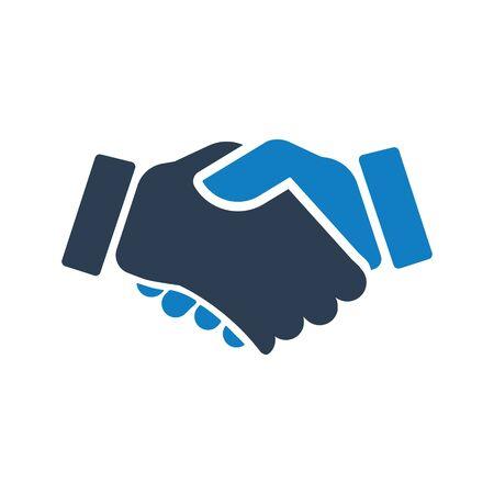 Business partnership, deal, partnership icon