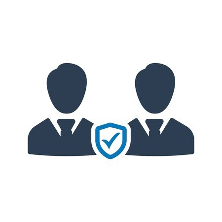Business employees security icon Archivio Fotografico - 150228494