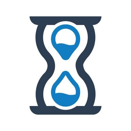 Waiting, hourglass, Deadline, Time Planning Icon Archivio Fotografico - 150228503