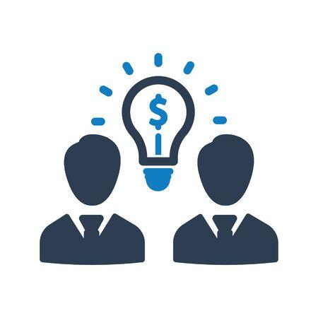 Business creative solution, business idea icon Archivio Fotografico - 150228515